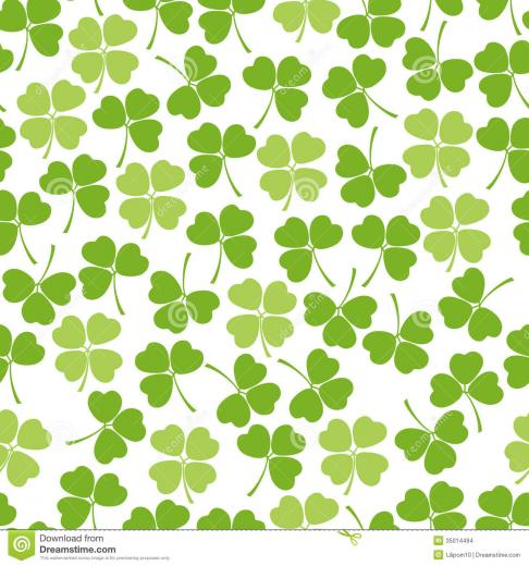 Clover Background Seamless clover background