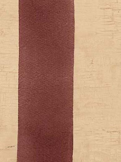 Wallpaper by The Yard Burgundy Beige Country Stripe Wallpaper AAI09017