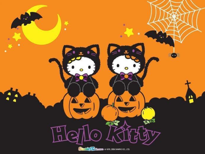 Hello Kitty Halloween Wallpapers   Top Hello Kitty Halloween