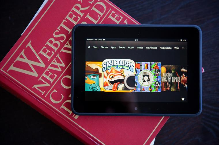Amazons Kindle Fire HD one of the few successful rivals to Apple