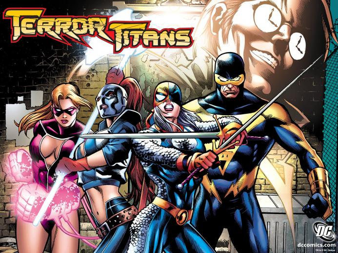 Terror Titans   DC Comics Wallpaper 4206786