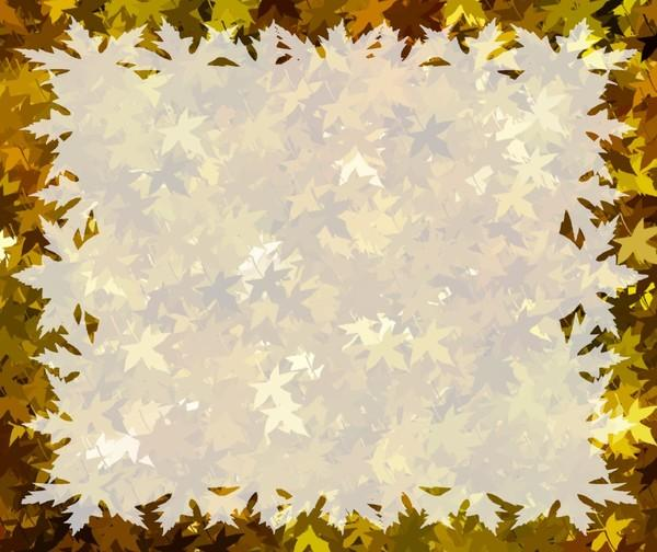Autumn Leaves Wallpaper Border Of fall or autumn leaves