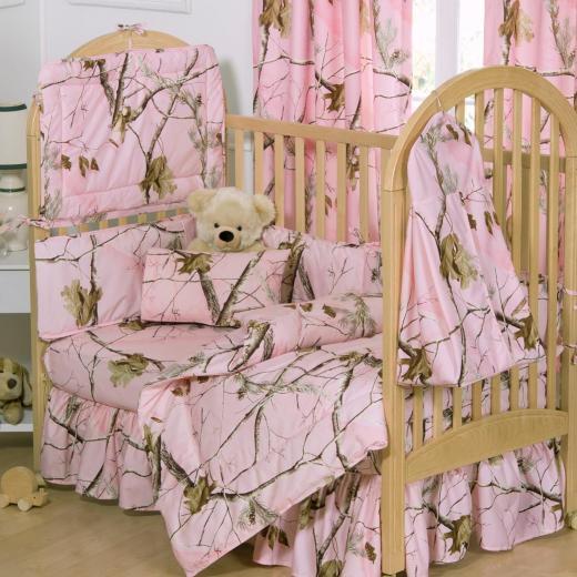Realtree Camo Crib BeddingCrib Pink Camo Bedskirt Baby Girl