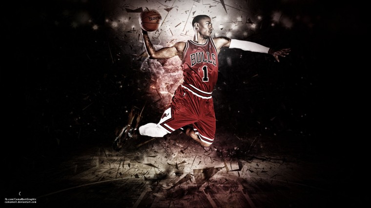 Derrick Rose Wallpaper by cumamert