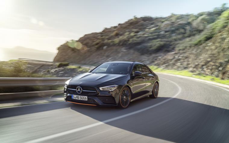 Mercedes Benz CLA Class 8k Ultra HD Wallpaper Background Image