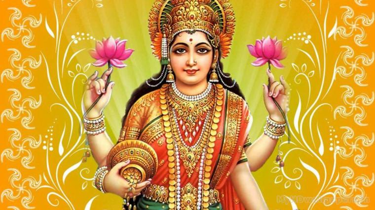 god lakshmi wallpaper desktop background in hd widescreen resolution