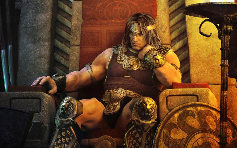 Age of Conan   Throne desktop wallpaper