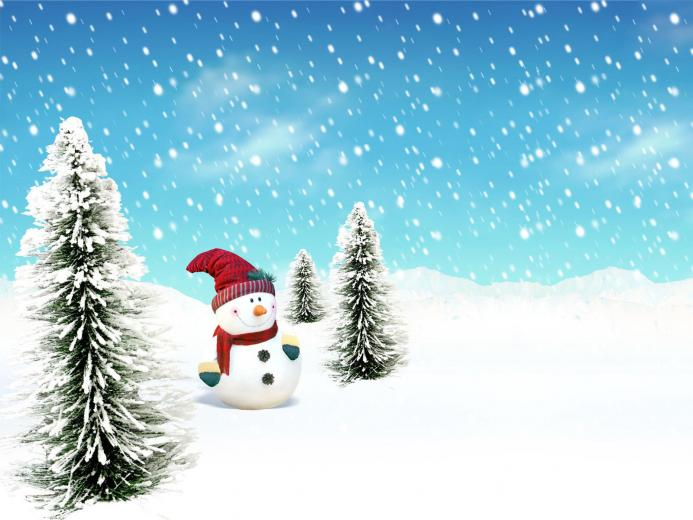 Winter Snowman Picture Images amp Pictures   Becuo