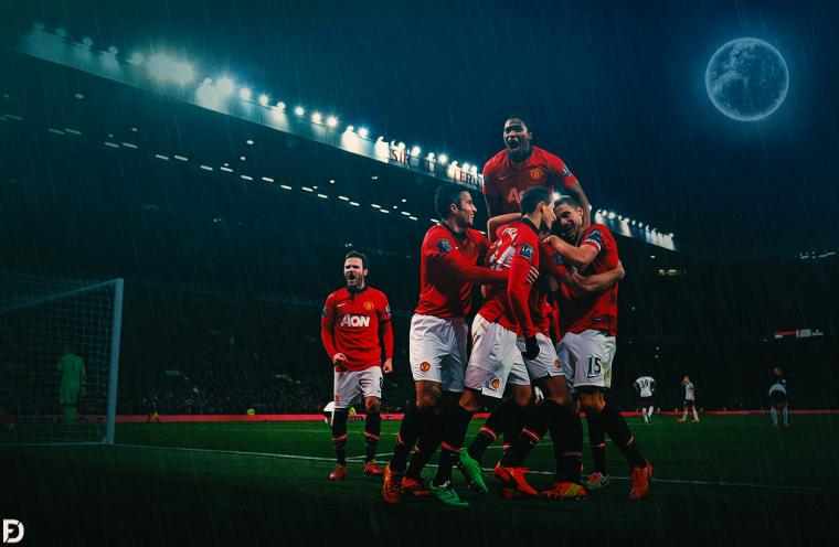 Manchester United 2014 by Fristajlere