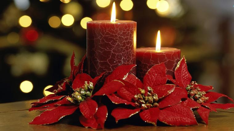 Christmas Candle lights HD Wallpapers for iPhone iPhone Wallpapers
