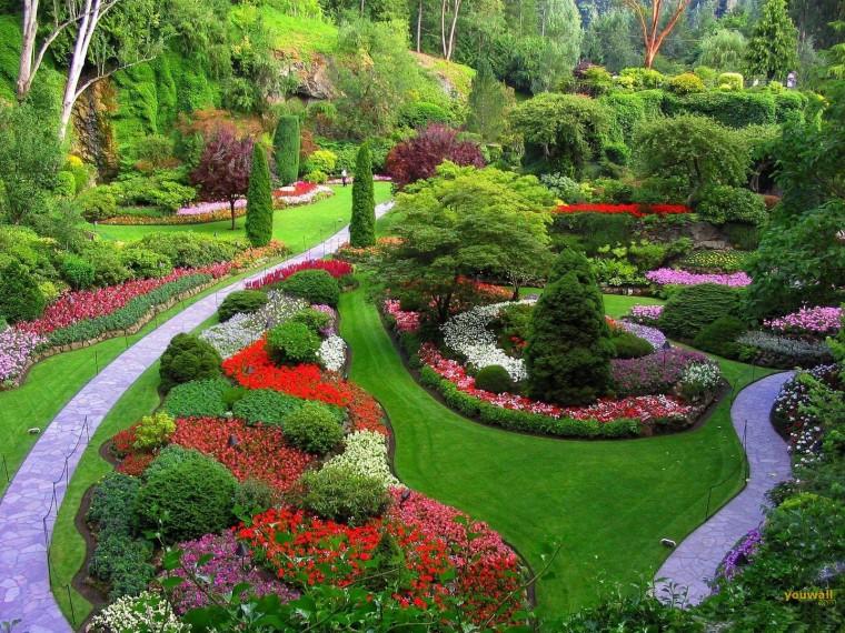 Beautiful Japanese Garden 2011   HD Wallpaper