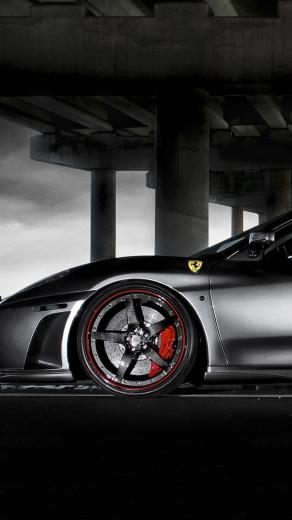 Wallpaper Iphone 6 Plus Ferrari Black 5 5 Inches   1080 x 1920
