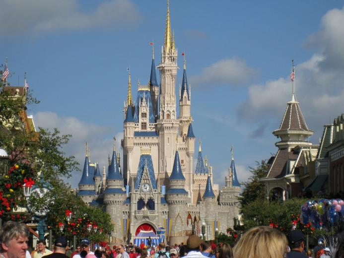 Walt Disney World Castle Wallpaper CityMochacom