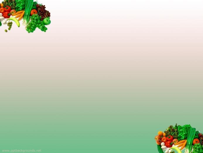 Fruits And Vegetables Backgrounds For PowerPoint   Foods and