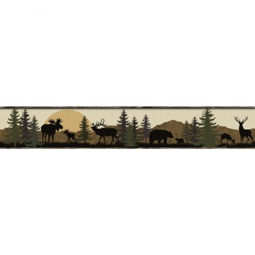 moose   Wallpaper Border Wallpaper inccom