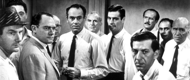 Download wallpaper 2560x1080 12 angry men men actors black