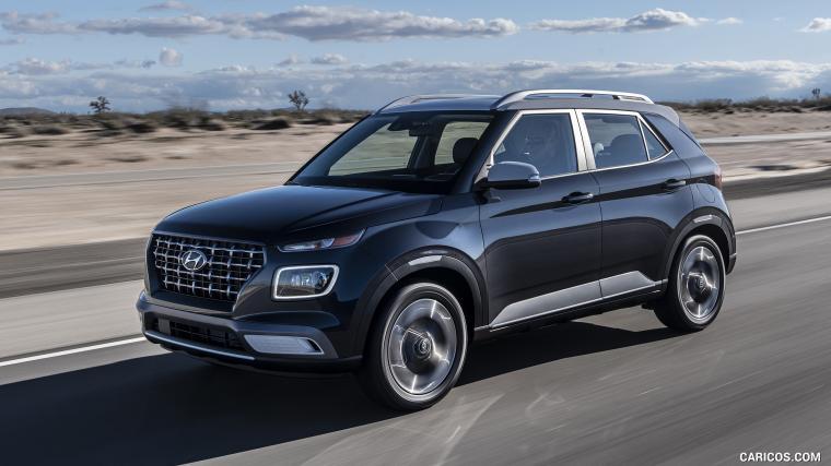 2020 Hyundai Venue   Front Three Quarter HD Wallpaper 1