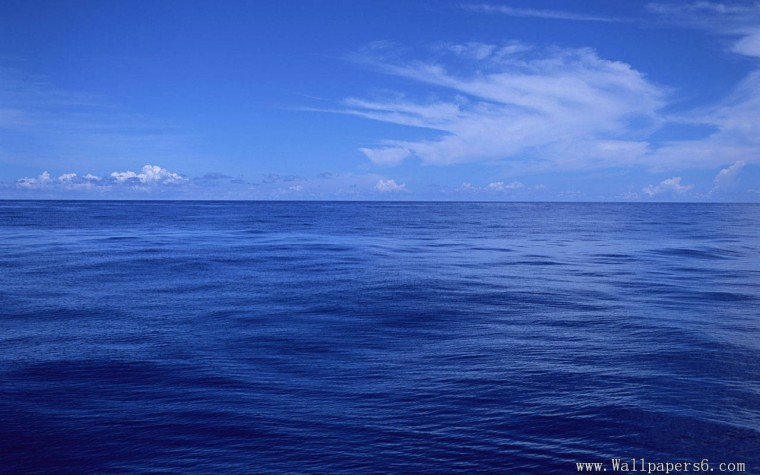 landscape wallpapers blue ocean and blue sky blue ocean and blue