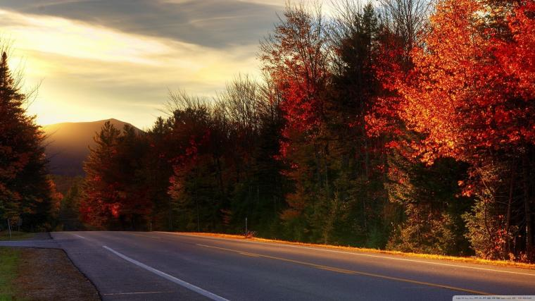 Road In New Hampshire 4K HD Desktop Wallpaper for 4K Ultra HD