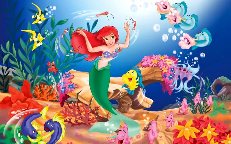 Disney The Little Mermaid Wallpapers HD Wallpapers