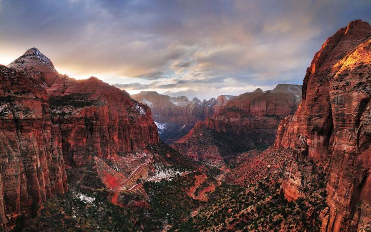 Zion national park wallpaper Wallpaper Wide HD