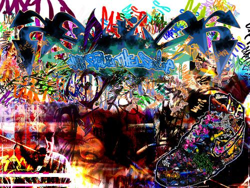 hip hop graffiti wallpapers Hip Hop BG Luda Arce Tags