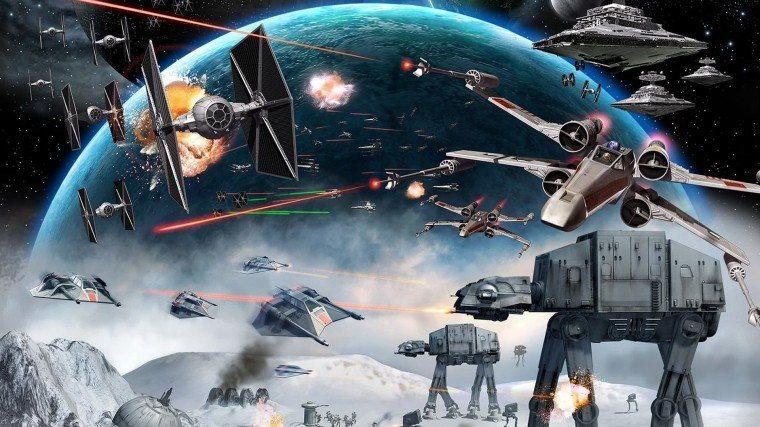 Largest Collection of Star Wars Wallpapers For Download