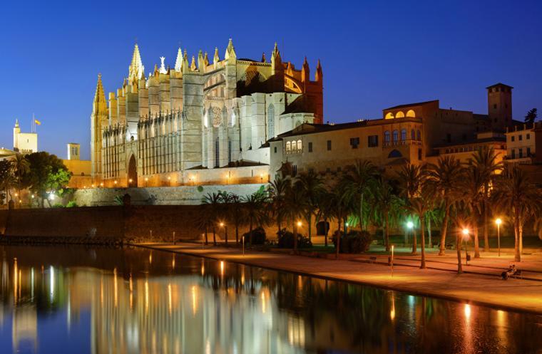 Wallpaper Majorca Mallorca Palace Spain Palma de Mallorca Canal