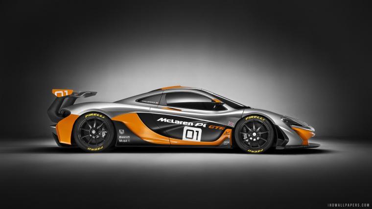 McLaren P1 GTR HD Wallpaper   iHD Wallpapers