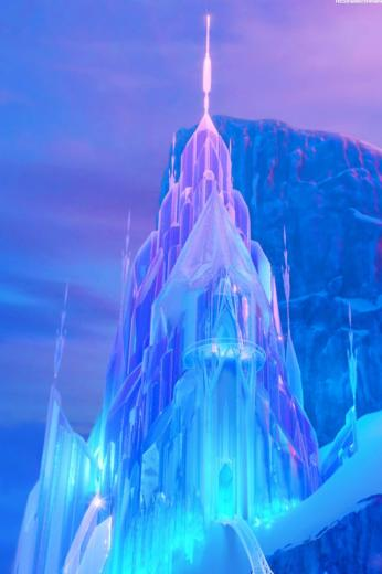 Phones Backgrounds Castles Frozen Disney Wallpaper Ice Castles