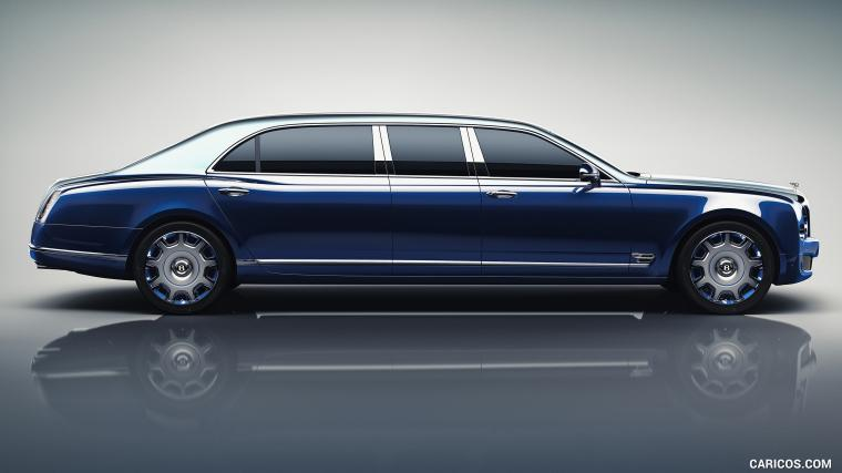 2016 Bentley Mulsanne Grand Limousine by Mulliner   Side HD