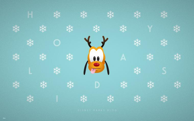 2015 Disney Parks Holiday Wallpaper