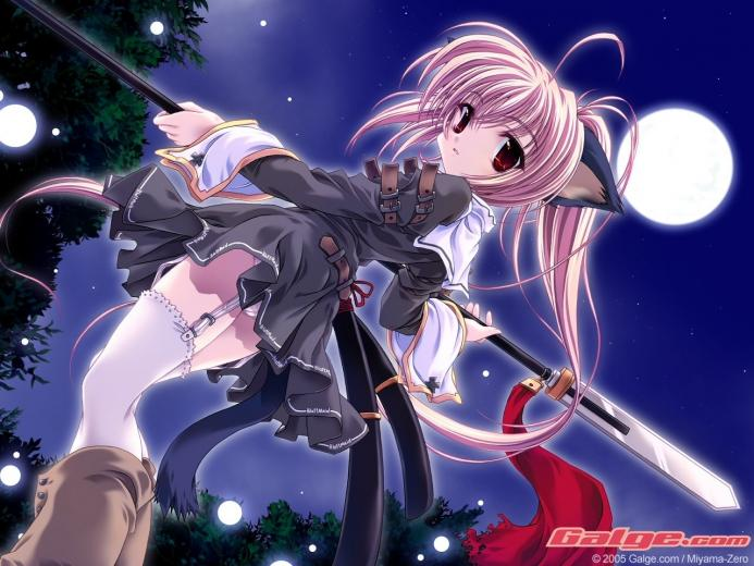neko   anime animal girls Wallpaper 6629606