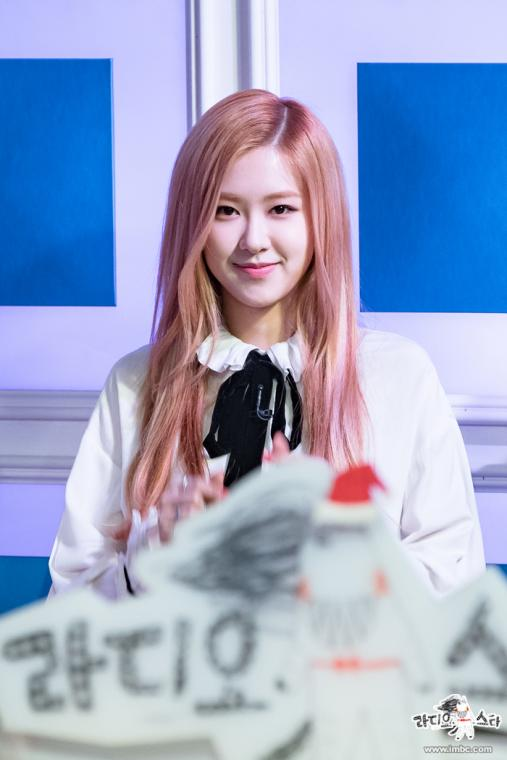 rose blackpink fashion kpop hairstyle Black Pink
