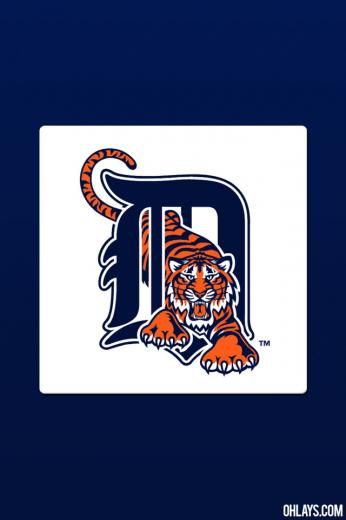 Detroit Tigers iPhone Wallpaper 759 ohLays