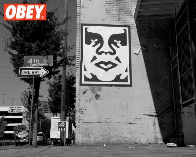 Shepard Fairey OBEY julienbrandts