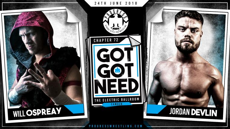 Match of the Week 2906 0607 2018 Jordan Devlin vs Will