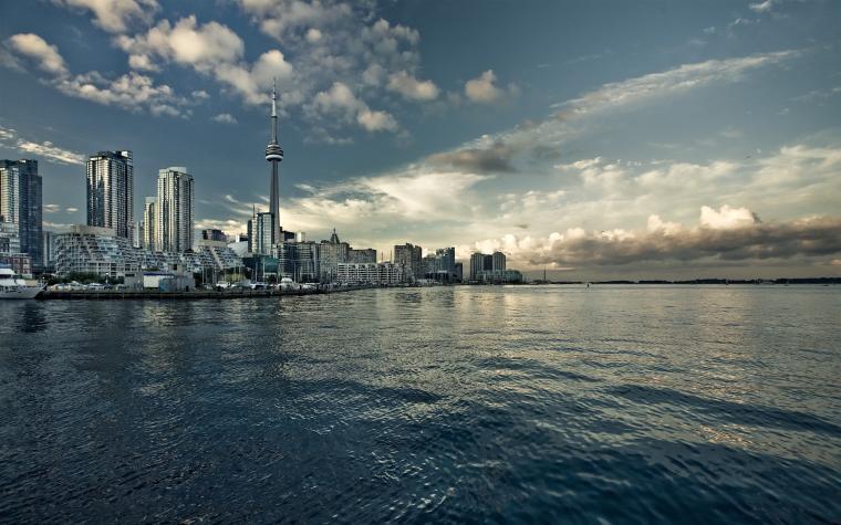 Daily Wallpaper Toronto Skyline I Like To Waste My Time