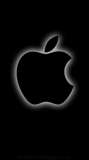Black apple iPhone 66 plus wallpaper and background