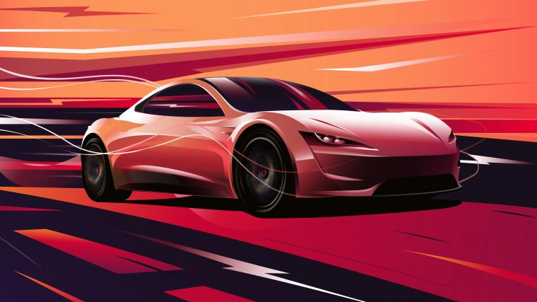 download Tesla Roadster 2020 4K 8K Wallpapers HD Wallpapers