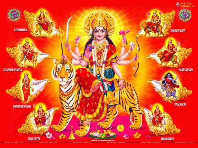 Nav Durga   Maa Nav Durga HD wallpaper Download