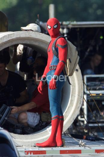 Exclusive Spider Man Homecoming Set Photos