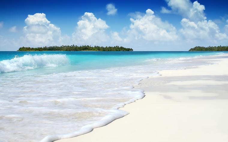 Summer Sea Waves Wallpaper HD Wallpaper HD Widescreen