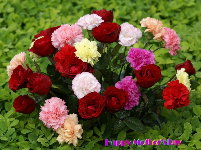 Beautiful flower bouquet   Happy Mother Day