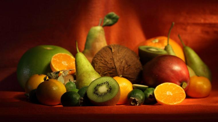 Rich in fruits and vegetables Wallpaper 2560x1440 Download