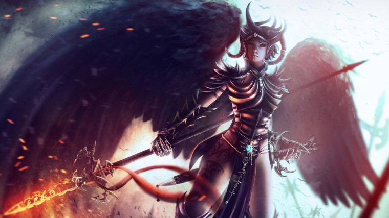 Dungeons Dragons Fantasy Girl Wallpapers HD Wallpapers