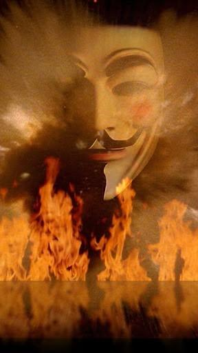 Unofficial Anonymous Live Wallpaper HD Guy Fawkes Mask Donation  NO
