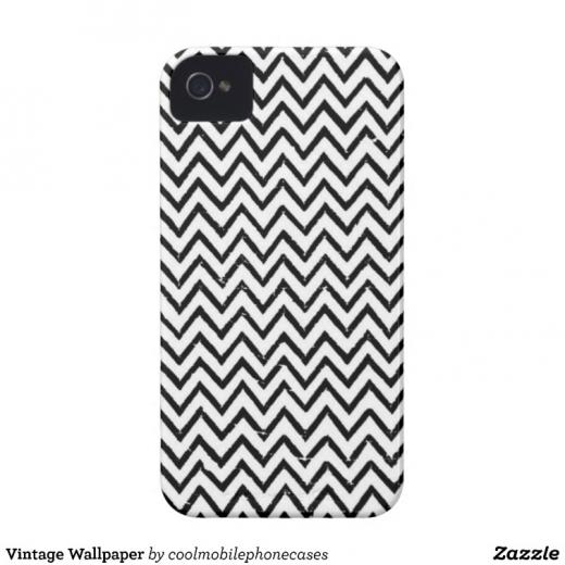 Vintage Wallpaper iPhone 4 Case Mate Cases