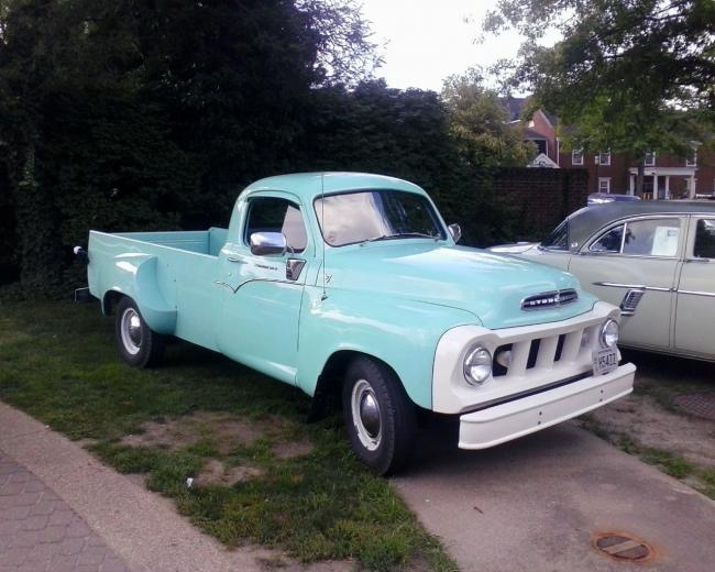 Wallpaper VERY COOL TRUCK Old Classic Cool Blue Cars Machines