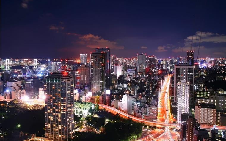 Tokyo City Night 1920 x 1200 Download Close